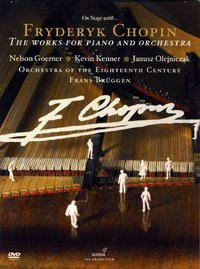 DVD F. Chopin - The Works for Piano and Orchestra (2 DVD)
