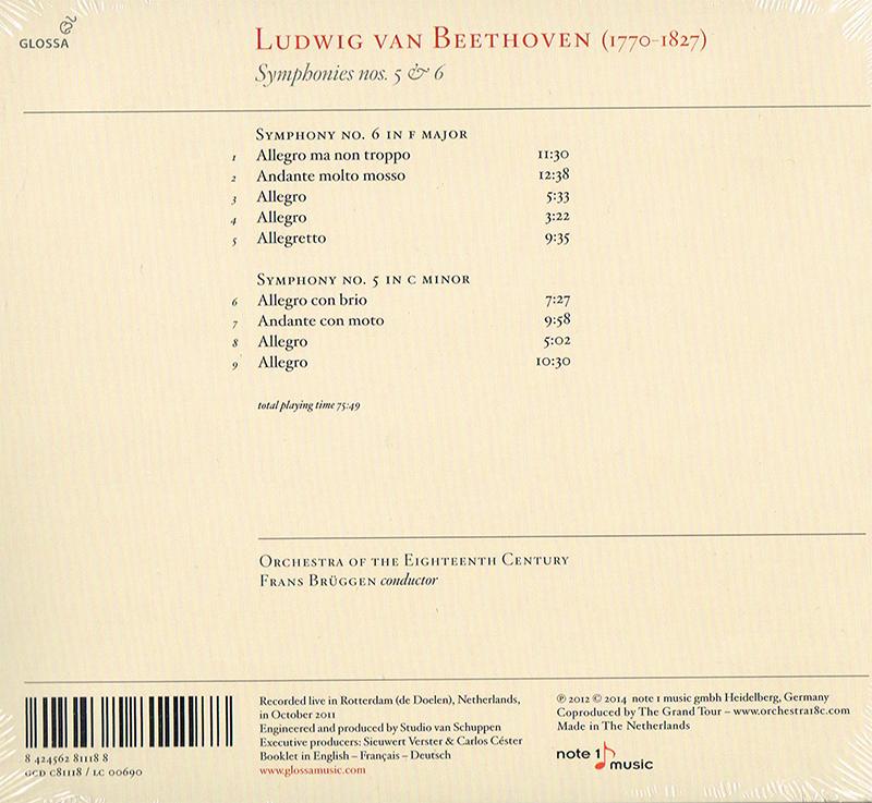 Ludwig van Beethoven - Symphonies 5 & 6